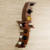 Holly & Martin Avila Wall Mount Wine Rack