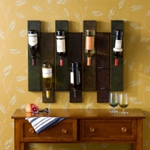 Holly & Martin Santa Cruz Wall Mount Wine Rack