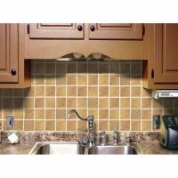 Prime Source Sandstorm Medallion Decorative Vinyl Backsplash Wall Tiles