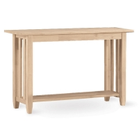 IC Unfinished Mission Sofa Table