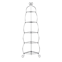 Holly & Martin Oakley Corner Etagere-Black