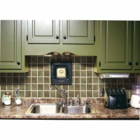 Prime Source Forest Set Decorative Vinyl Backsplash Wall Tiles
