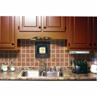 Prime Source Tuscan Vineyard Decorative Vinyl Backsplash Wall Tiles