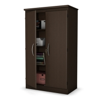 South Shore Morgan Storage Cabinet - Chocolate