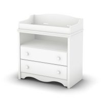 South Shore Heavenly Changing Table - Pure White