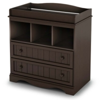 South Shore Savannah Changing Table - Espresso
