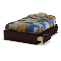 South Shore Willow Full Mates Bed (54 inches) - Havana