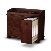 South Shore Precious Changing Table - Royal Cherry