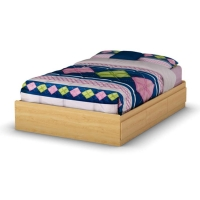 South Shore Popular Full Mates Bed (54 inches) - Natural Maple