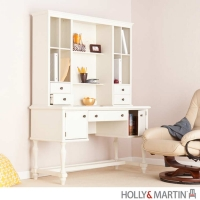 Holly & Martin Adrian Desk w/Hutch