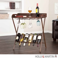 Holly & Martin Encinitas Wine Table - Espresso