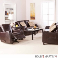 Holly & Martin Braxton 3 Piece Sofa Set w/Recliner