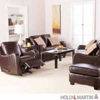 Holly & Martin Braxton 4 Piece Sofa Set w/Ottoman