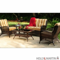 Holly & Martin Kingston Outdoor 4 Piece Deep Seating Set by Agio™