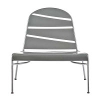 Holly & Martin Loggins Indoor/Outdoor Lounge Chair - Silver