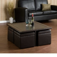SEI Nylo Storage Cube Table Set