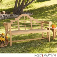 Holly & Martin Davis Light Brown Bench