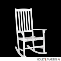 Holly & Martin Jameson Porch Rocker-White