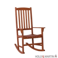 Holly & Martin Jameson Porch Rocker-Natural Oil Finish