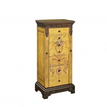 *Avail 7/3 Powell Masterpiece Antique Parchment Jewelry Armoire