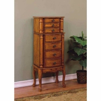 *Out of Stock Powell Woodland Oak Jewelry Armoire