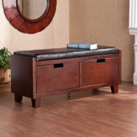 SEI Capistrano 2 Drawer Bench