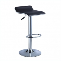 Powell Chrome & Black Barstool