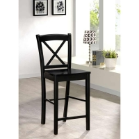 Linon X Back Stool - 2 Heights