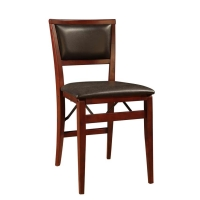 Linon Keira Pad Folding Chair - Set of 2