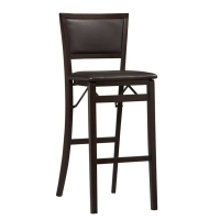 Linon Keira Pad Folding Bar Stool