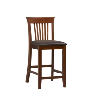 Linon Triena Craftsman Stool - 2 Heights