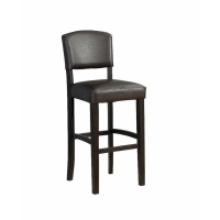 Linon Monaco Stool - 2 Finishes