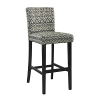 Linon Monaco Driftwood Stool - 2 Heights