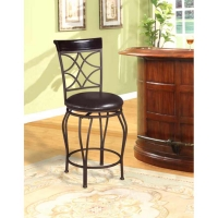 Linon Curves Stool - 2 Heights