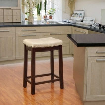 Linon Claridge Patches Counter Stool - 6 Colors