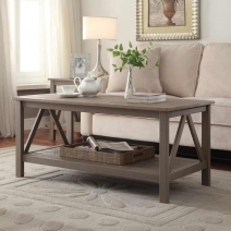 Linon Titian Coffee Table - 2 Finishes