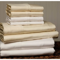 FB White Microfiber Sheet Set - 7 Sizes