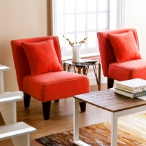 *CLOSEOUT Holly & Martin Purban 2pc Slipper Chairs