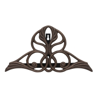 Victorian Oil Rubbed Bronze Hose Holder - Whitehall-QS