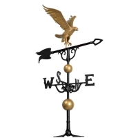 Eagle 46 inch Rooftop Weathervane - Whitehall-QS