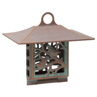 Suet Nuthatch Bird Feeder - Copper Verdi
