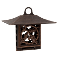 Oak Leaf Suet Feeder - Oil Rubbed Bronze