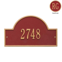 Arch Marker Standard Wall Plaque - Whitehall