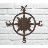 Compass Wall Decor - Whitehall