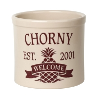 Whitehall Pineapple Established Welcome 2 Gallon Crock