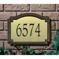 Williamsburg Artisan Metal Standard Wall-Lawn Plaque - Whitehall