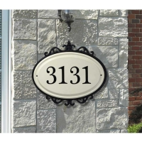 Hillsdale Standard Wall One Line Plaque - Whitehall