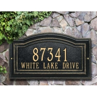 Arbor Standard Wall-Lawn Plaque - Whitehall