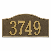 Rolling Hills Standard Wall Plaque - Whitehall