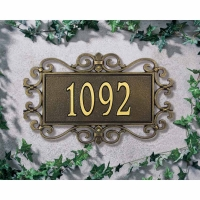 Mears Fretworks Standard Lawn/Wall Plaque - Whitehall